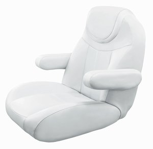 Tellico Mid Back Reclining Captain Chair 3125  sc 1 st  Restore Pontoon & Luxury Pontoon Boat Seats by Wise islam-shia.org