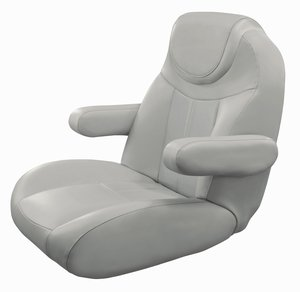 Pontoon Boat Seats For Sale >> Tellico Mid Back Reclining Captain Chair 3125