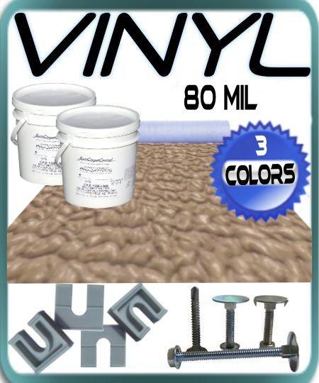 80 Mil Pontoon Vinyl Flooring Kit