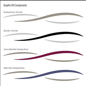 Pontoon Graphics Kit - Decals for pontoon boats