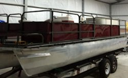 Replacement Pontoon Boat Fence Skin
