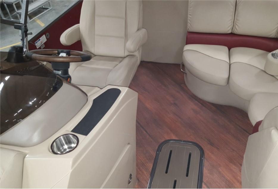 TEAK Vinyl Flooring for Boats - 125MIL