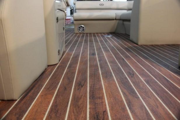 Aquatread Teak Marine Vinyl Flooring