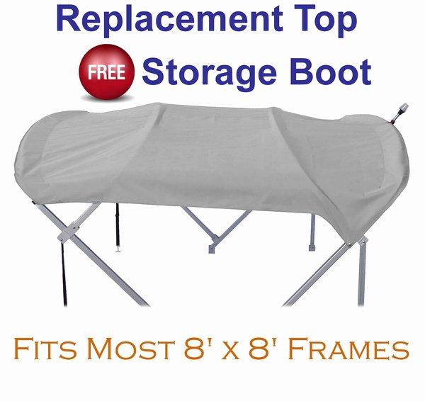 Replacement Pontoon Top & Storage Boot (8' x 8')