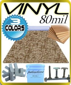 Pontoon Deck Kit With Pontoon Vinyl Flooring