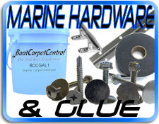 marine hardware and boat glue