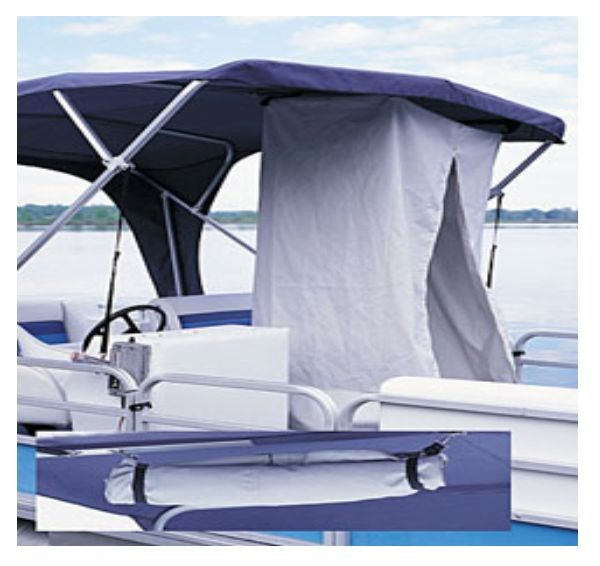 Portable Privacy Shelter For Boats : Pontoon privacy partition