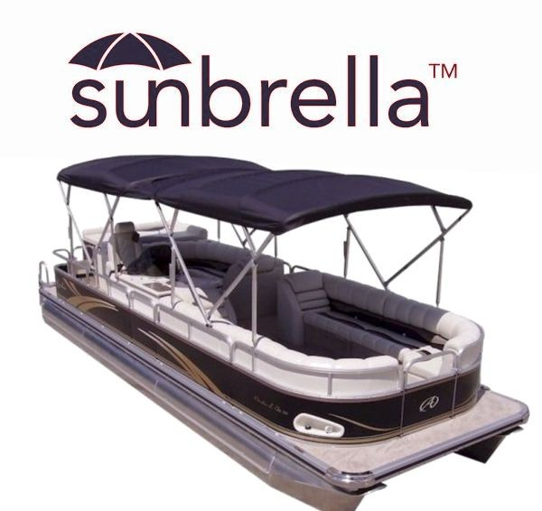 Sunbrella Twin Pontoon Boat Bimini Tops