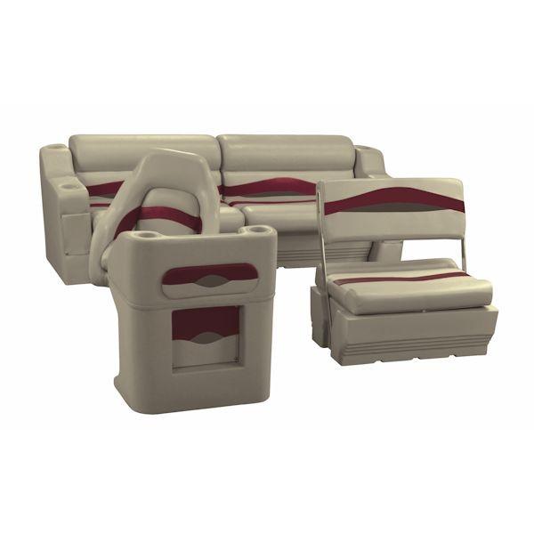 traditional pontoon boat furniture set ws14008