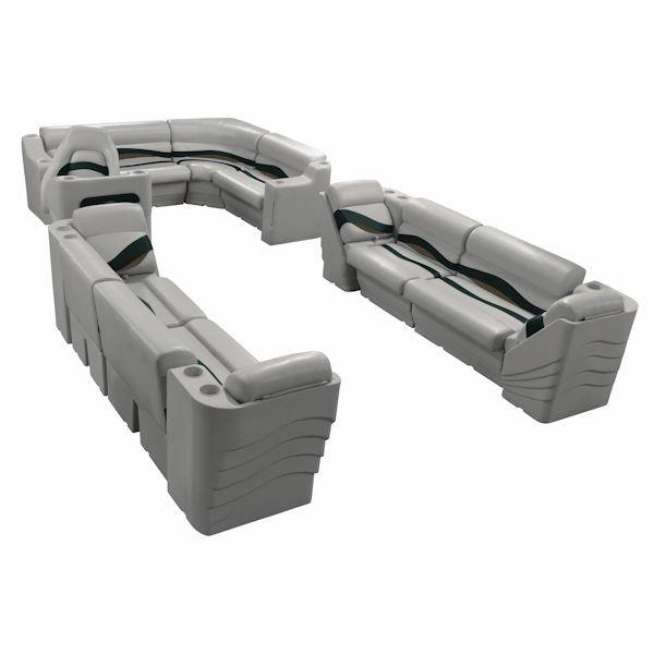 L Group Pontoon Seat Interior WS14012