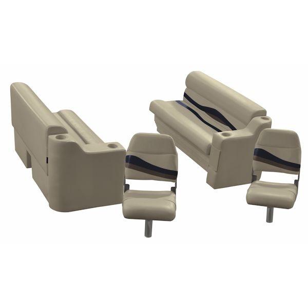 Pontoon Boat Furniture Ideas: Fishing Pontoon Boat Seat Set WS14030